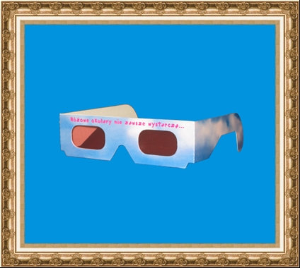 Okulary kartonowe małe