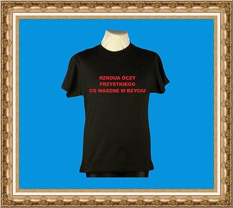 T-shirt z nadrukiem 100