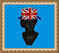 hełm rycerza, hełm kartonowy,hełm z nadrukiem, hełm reklamowy,hełm brytyjski
