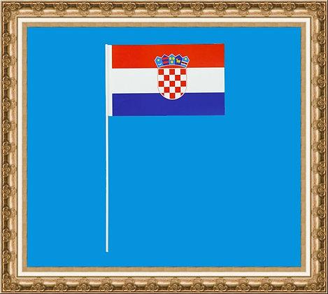 Chorągiewka Chorwacji