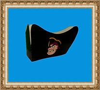 Czapka pirata,tricorn,hełm kartonowy,hełm z nadrukiem, hełm reklamowy