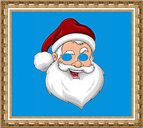 maska papierowa,maska kartonowa,maska reklamowa,maska na event,maska z nadrukiem,maska dla dzieci,maska Mikołaja,maska świąteczna