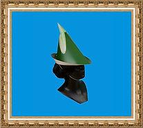 czapka kartonowa,czapka z nadrukiem,czapka reklamowa,kapelusz Robin Hooda