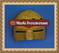 Maska maska przestrzenna,maska papierowa,maska kartonowa,maska reklamowa,maska na event,maska z nadrukiem,maska dla dzieciprzestrzenna MKP35