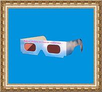 Gadżety ekologiczne,okulary kartonowe