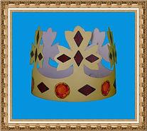 korona kartonowa,korona reklamowa,korona z nadrukiem,trzech króli,sześciu króli