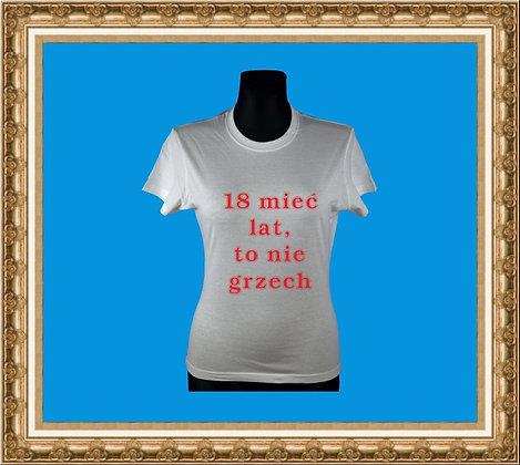 T-shirt z nadrukiem 266