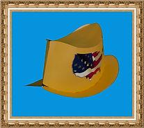 Kapelusz kowbojski, Kapelusz kartonowy,kapelusz reklamowy,kapelusz z nadrukiem