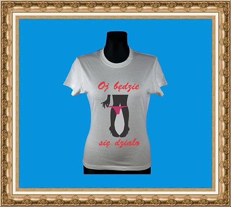 T-shirt z nadrukiem 254