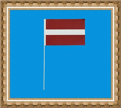 Chorągiewka Łotwy