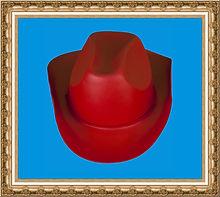 Kapelusz kowbojski ze sznurkiem,kapelusz kowbojski z pianki,kolorowy kapelusz