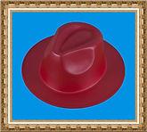 kapelusz gangsterski,kolorowy kapelusz,pianka
