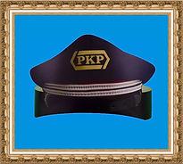 czapka z nadrukiem,czapka reklamowa,czapka papierowa,rogatywka,czapka konduktora pociągu