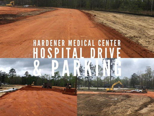 Hartner Drive & Parking - In Progress