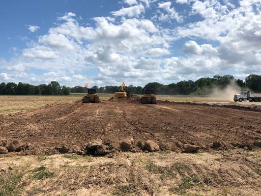 Drainage Improvements at Monroe Airport - In Progress