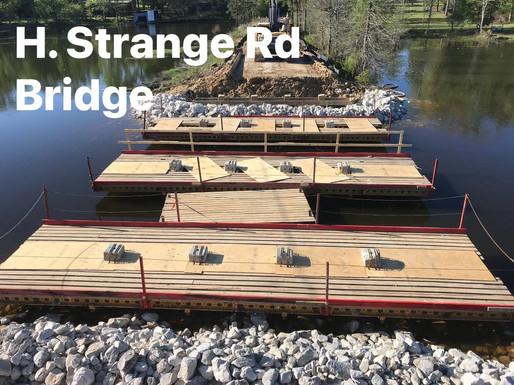 Castor Pinge/H. Strange/Palmer Chapel Bridge - In Progress