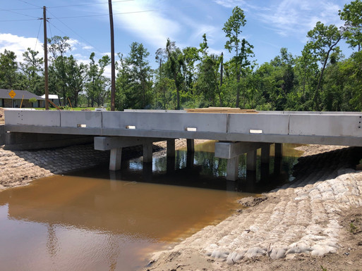Dean Drive Bridge Replacement - In Progress