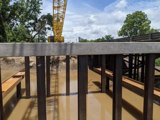 Bayou Vermillion Bridge - In Progress