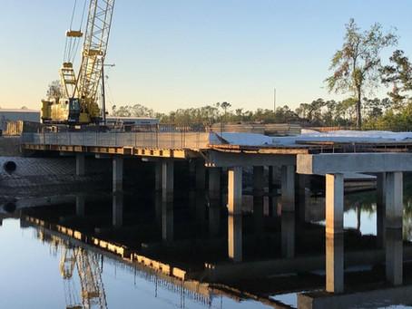Patton Street Bridge - In Progress