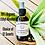 Thumbnail: Natural Hand Sanitizer Spray- Effective Organic Alcohol Solution w/ Aloe 4 oz