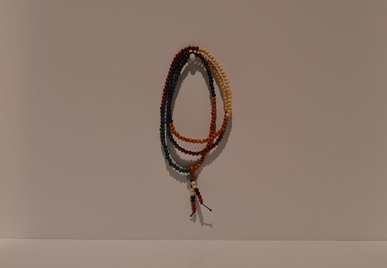 Multi-Color Prayer Beads