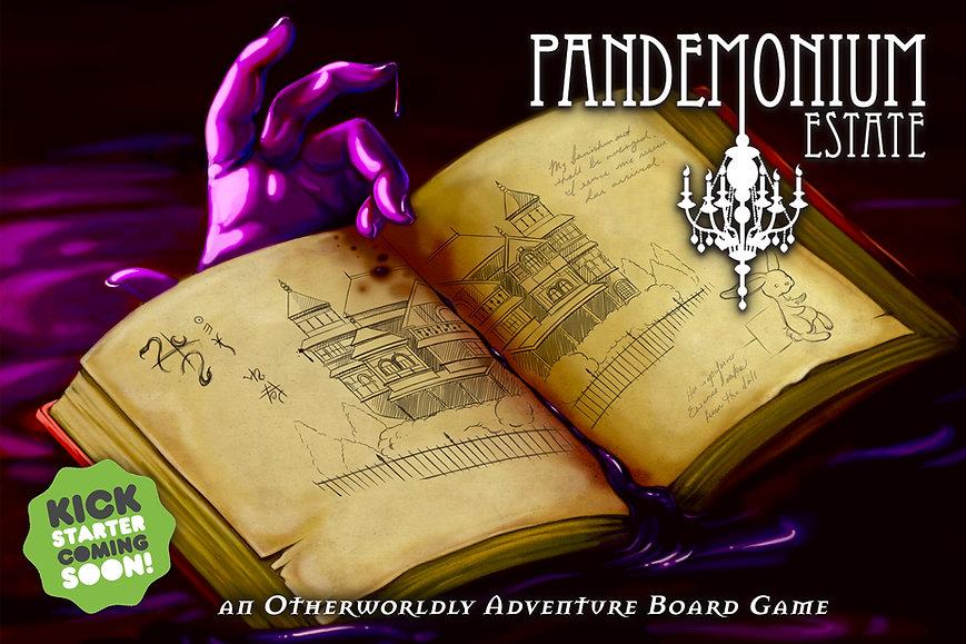 Pandemonium Estate Board Game