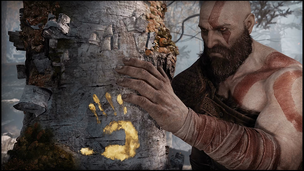 Kratos at Fey's Tree
