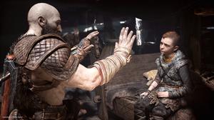Kratos training Atreus