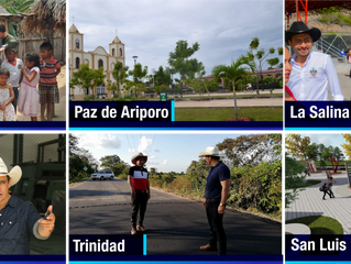 Con Paso Firme Alirio Barrera ha llegado a todo Casanare
