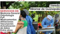 BRIGADA DE SALUD EN SAN LUIS DE PALENQUE ESTE 4 DE DICIEMBRE