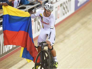 Fernando Gaviria, nuevamente campeón del mundo en el ómnium