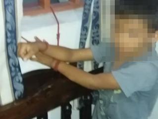 Niño fue encontrado atado de las manos a una ventana en Yopal
