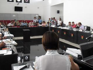 Plantón en el Concejo de Yopal, por reducción de los subsidios de servicios públicos de los estratos