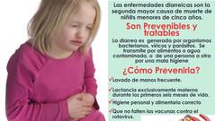 ENFERMEDAD DIARREICA, SEGUNDA MAYOR CAUSA DE MUERTE  DE NIÑOS MENORES DE 5 AÑOS