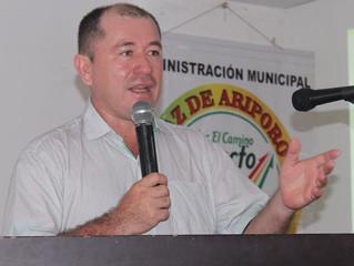 Hoy será la audiencia en la que la Fiscalía le imputará cargos a Favio Vega, alcalde de Paz de Aripo