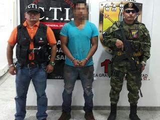 Capturado presunto extorcionista en Yopal