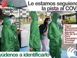 CAPRESOCA EPS ENVÍA RASTREADORES DE COVID A DIFERENTES MUNICIPIOS