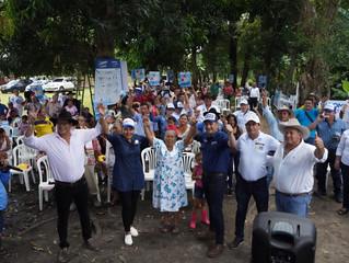 Apoyo total del Norte de Casanare y Yopal, a la propuesta de Salomón Sanabria