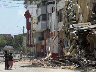 Pánico en Ecuador por constantes réplicas, la última fue de magnitud 6,1
