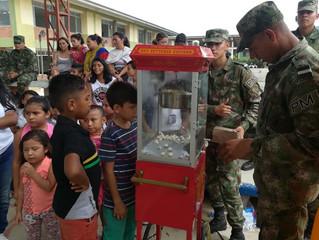 Más de 750 personas se beneficiaron de Jornada de apoyo en Llano Lindo