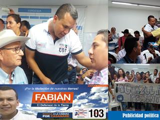 """Imparable - así avanza Fabián Gutiérrez """"El Pollo"""" en una campaña limpia a la Cámara de Representant"""