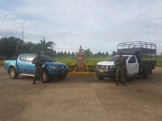 En Arauca fueron hallados dos vehículos que habían sido hurtados en Casanare