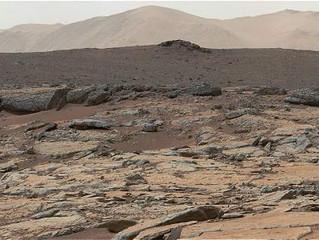 Un enorme volcán cambió la cara de Marte