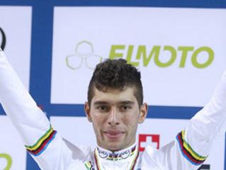 Fernando Gaviria, por su segundo oro en un Mundial