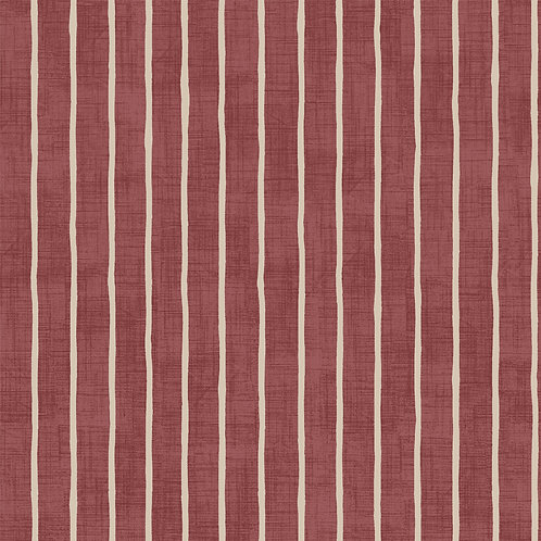 """Handsewn, Made-to-Measure Roman Blind in """"Pencil Stripe"""""""