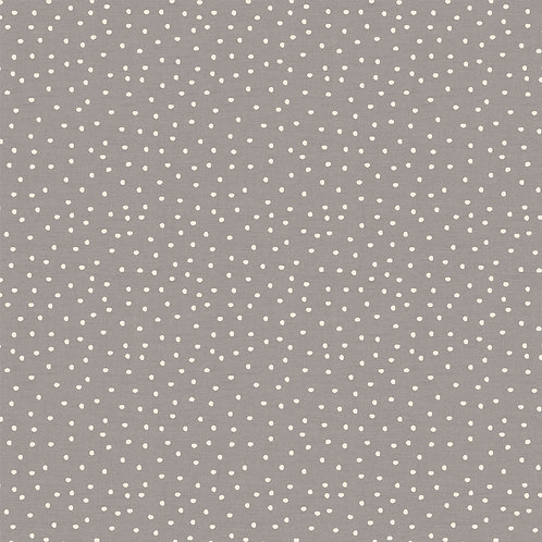 """Handsewn, Made-to-Measure Roman Blind in """"Spotty"""""""