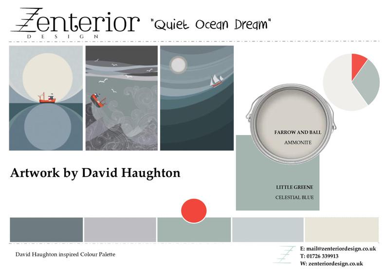 Quiet Ocean Dream Mood Board