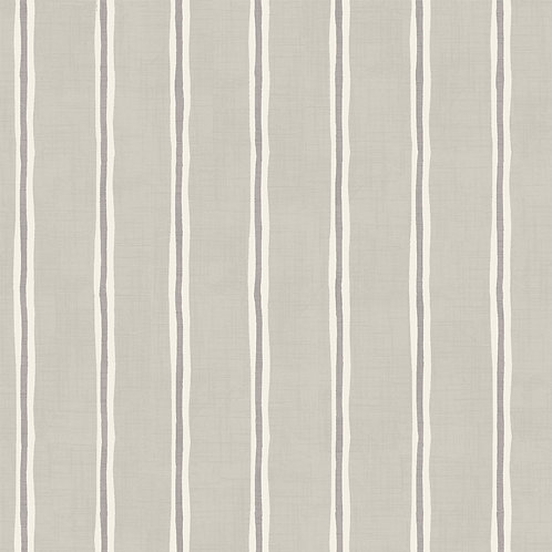 "Handsewn, Made-to-Measure, Pencil Pleat Curtains in ""Rowing Stripe"""