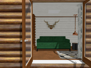 How to Convert a Shipping Container into a Log Cabin