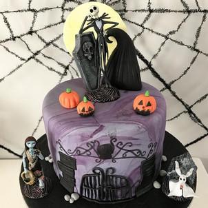 Gâteau Halloween Mr Jack